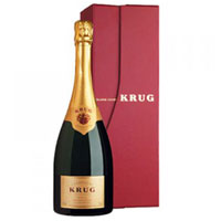 Highly Rated One Bottle of Krug Grande Cuvee Champagne