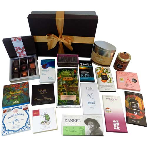 Remarkable Chocoholics Holiday Gift Hamper