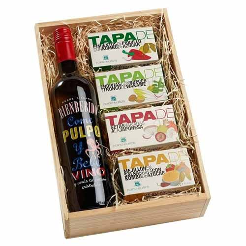 Highly-Enjoyable Wine N Gourmet Sensation Gift Box
