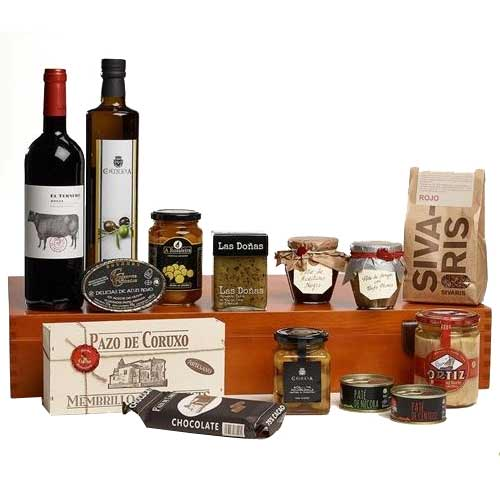 Memorable Grand Edition Wine N Gourmet Gift Box
