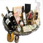Delectable Tidbits in a Gourmet Basket