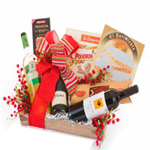 Dazzling Christmas Care Gift Tray