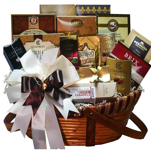 Marvelous Chocolate Gourmet Gift Basket