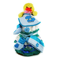 Ideal Gift Collection of 2 Floors Diaper Cake