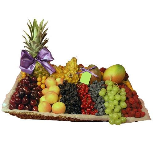 Superior Season's Fresh Fruits Gift Basket