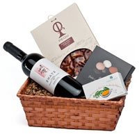 Dense Festive Treat Gift Basket