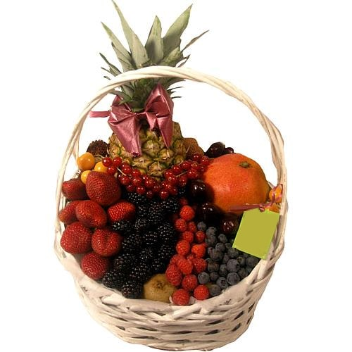 Luscious Best Collection Fruit Gift Basket