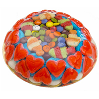 Classic Surprise of Round Shaped Cake for Festival