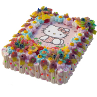 Rich For the Love of Hello Kitty with Wafer Cake