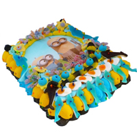 Toothsome Selection of Minions with Wafer Cake (1.4 kg.)