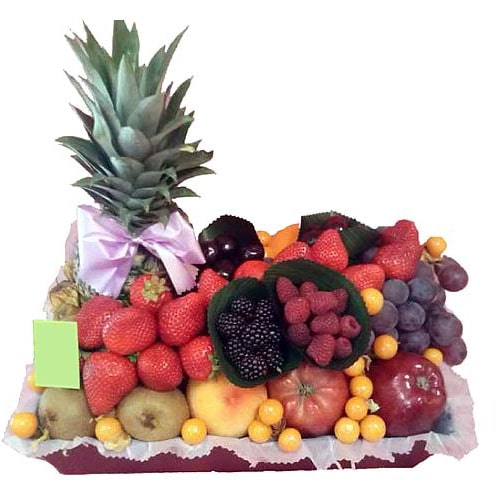Tangy Orchard Delight Fruits Tray