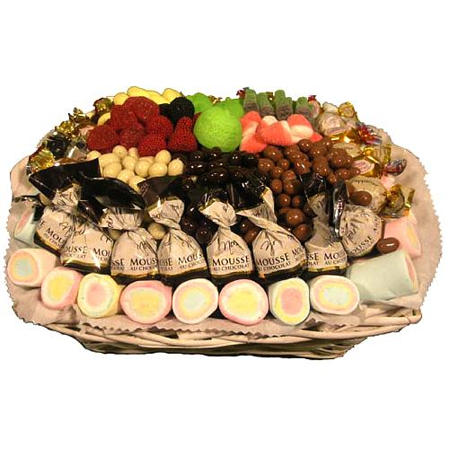 Luscious Tasteful Assortments Gift Basket