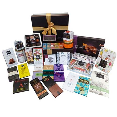 Heavenly Prosperity Basket of Chocolate Assortments