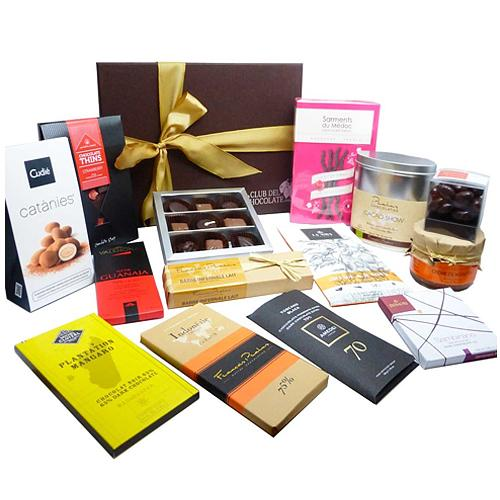 Remarkable Toast of Elegance Chocolate Gift Basket