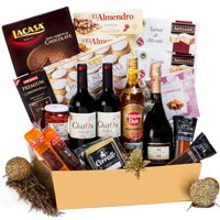 Vibrant Premier Selection Gift Treat with Wine