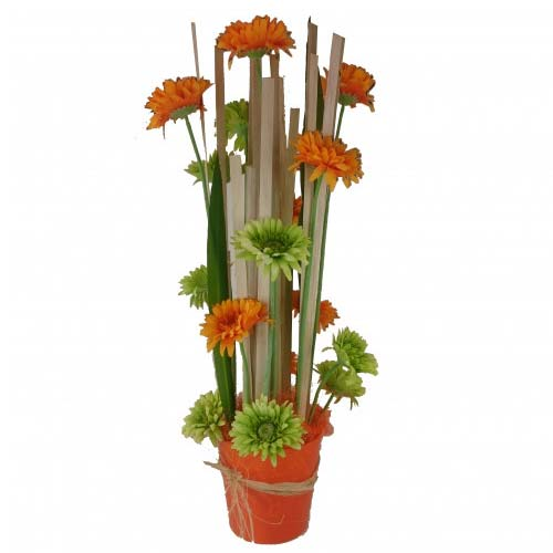 Modern Best Treats for Success Vertical Floral Center Piece