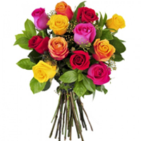 Impressive Promise of Love Roses Arrangement
