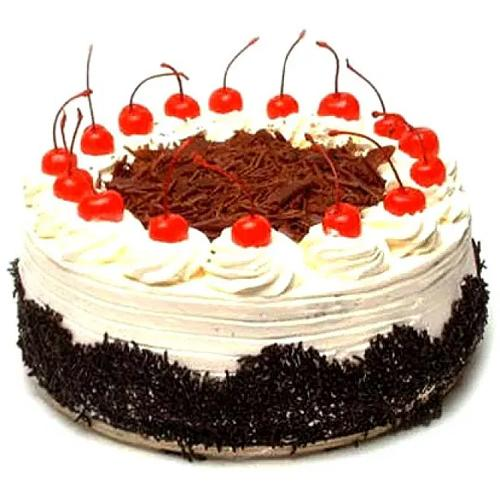 Tempting Birthday Special Black Forest Cake<br>