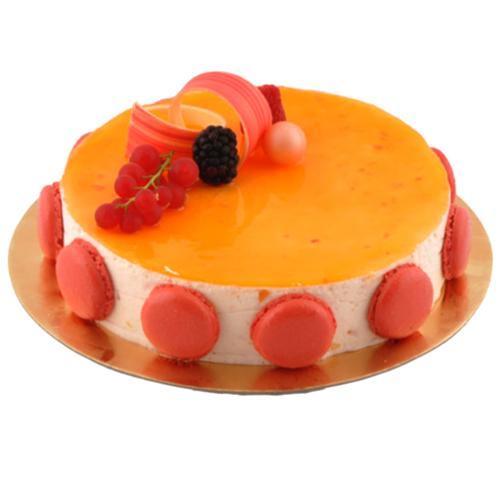 Marvelous Mandarin Mousse Cake<br>