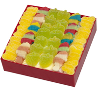 Pleasant Red Gift Box of Marshmallows Clouds N Assorted Candies