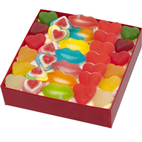 Marvelous Gift of Marshmallow Red Chocolates Box