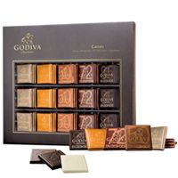 Mouth-Watering Carres Dark Chocolate Range from Godiva<br>