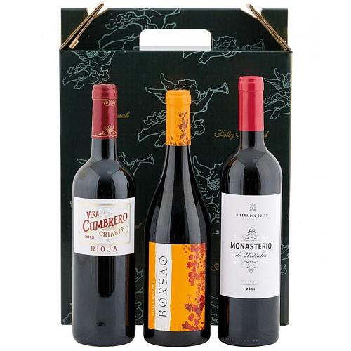 Intense Festive Essential 3 Bottles Wine Gift Set