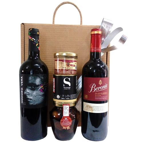 Dazzling Festive Moments Wine N Food Hamper