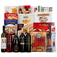 Entertainers Wine N Gourmet X-mas Gift Hamper