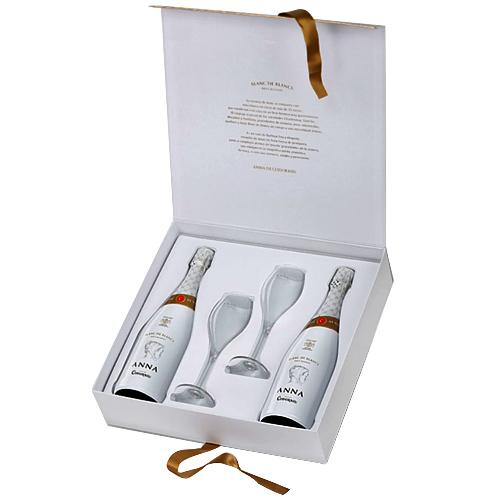 Versatile Wine N Wine Glass Combo Gift Pack
