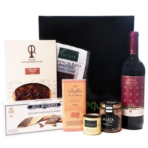 Lip Smacking Chocolates N Wine Combo