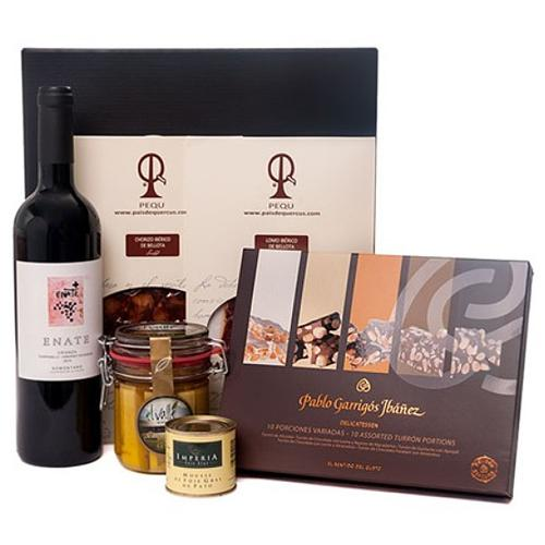 Jolly Wishes Gourmet Box with Cheese