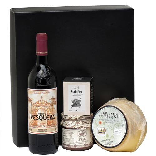 Festive Wine N Snacks Gift Hamper