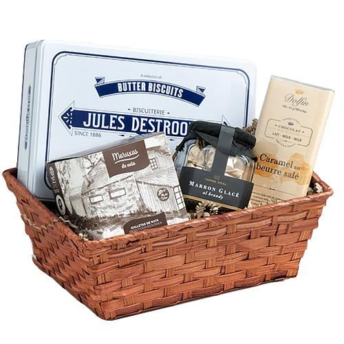 Gourmet Gift Hamper with Seasons Greetings