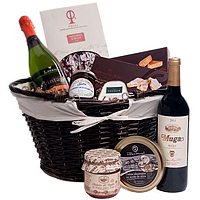 Splendid Gourmet Hamper from Santa