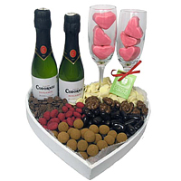Highly Enjoyable V-Day Essential Gift Basket �