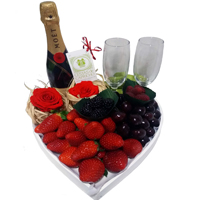 V-Day Special Gift Basket