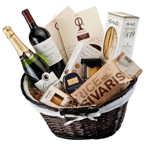 Enjoyable Gourmet N Wine Treat Hamper