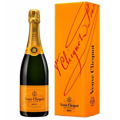 Deep Veuve Clicquot Ponsardin Brut Champagne for Special Event